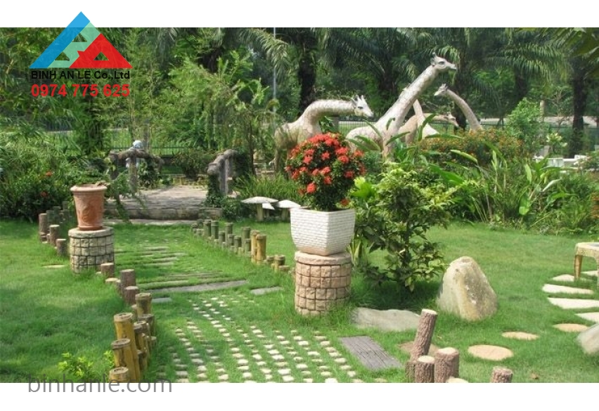 Mẫu sân vườn đẹp